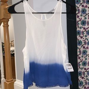 charlotte russe ~ ombre tank
